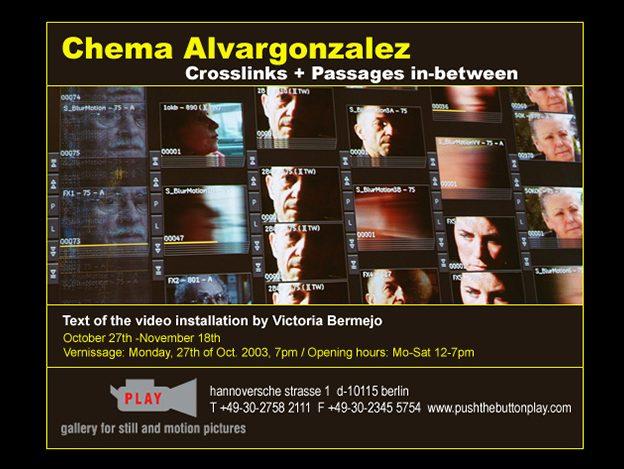 Invitation – CROSSLINKS + PASSAGES IN BETWEEN