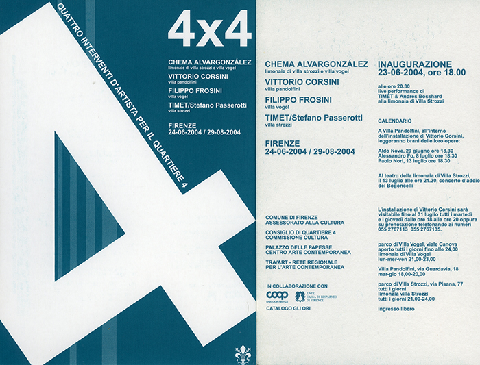 Invitation – 4 X 4