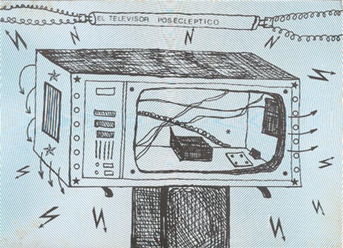 Invitation_El Televisor Posecleptico y Pinturas