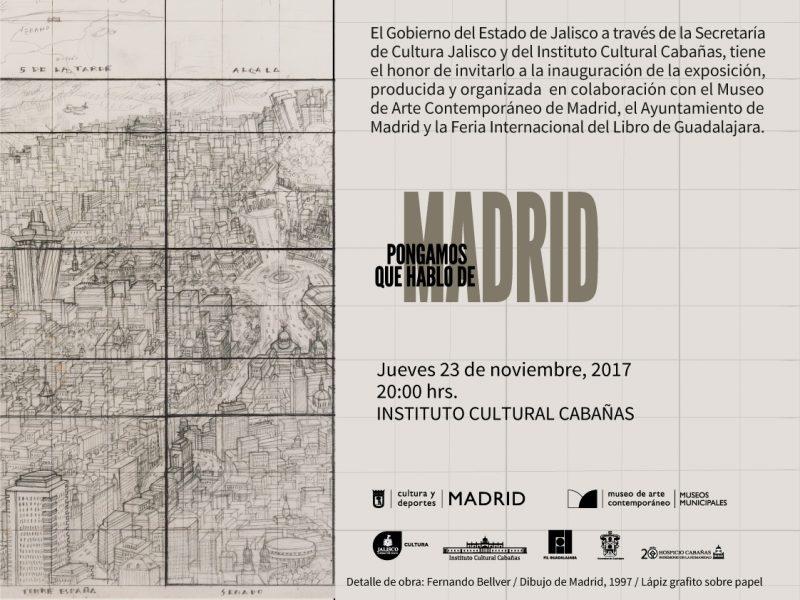 Invitation | Pongamos que hablo de Madrid