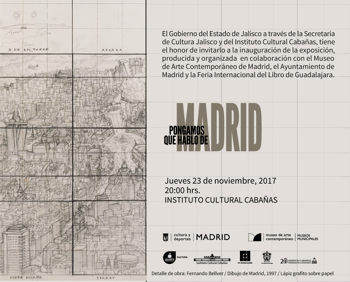 Invitation | Pongamos que hablo de Madrid