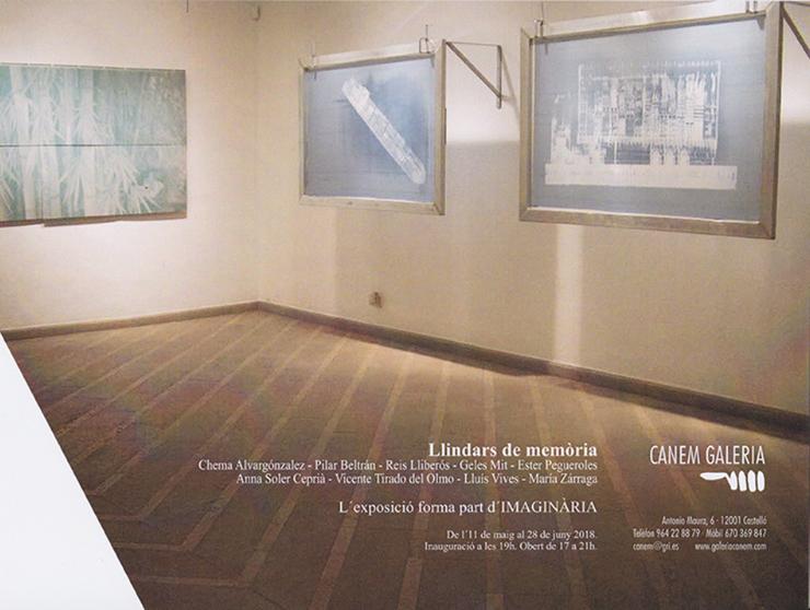 Invitation | Llindars de memòria | Galeria Cànem Castelló
