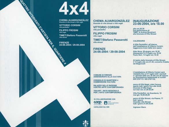 Invitation | 4 X 4