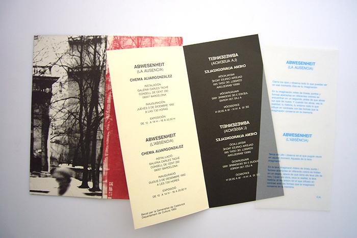 Invitation – Abwesenheit (La Ausencia)