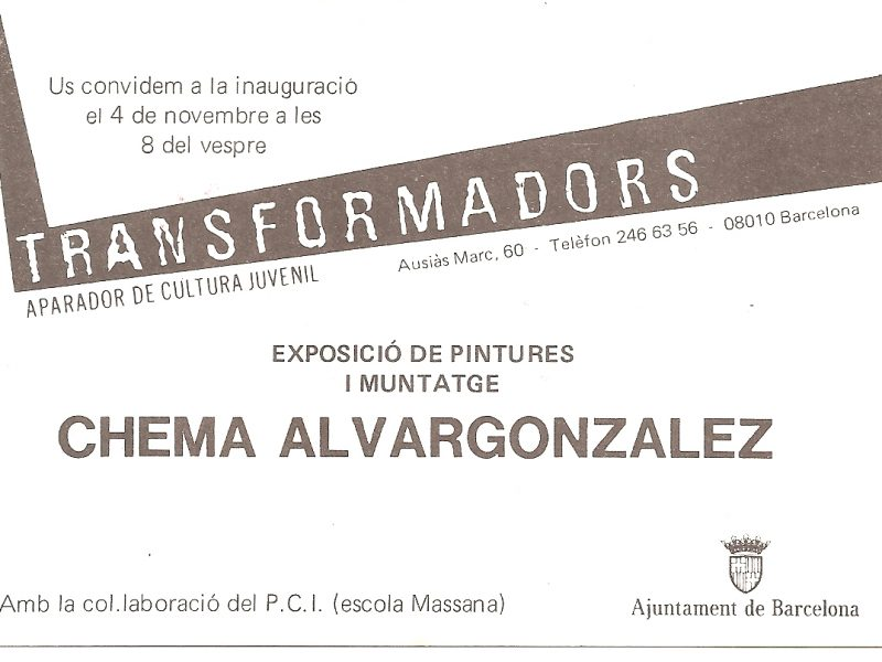 Invitation – Transformadors