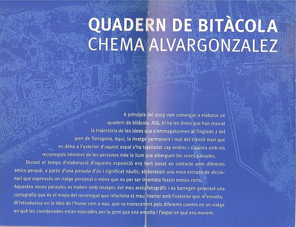 Invitation | Quadern de Bitàcola