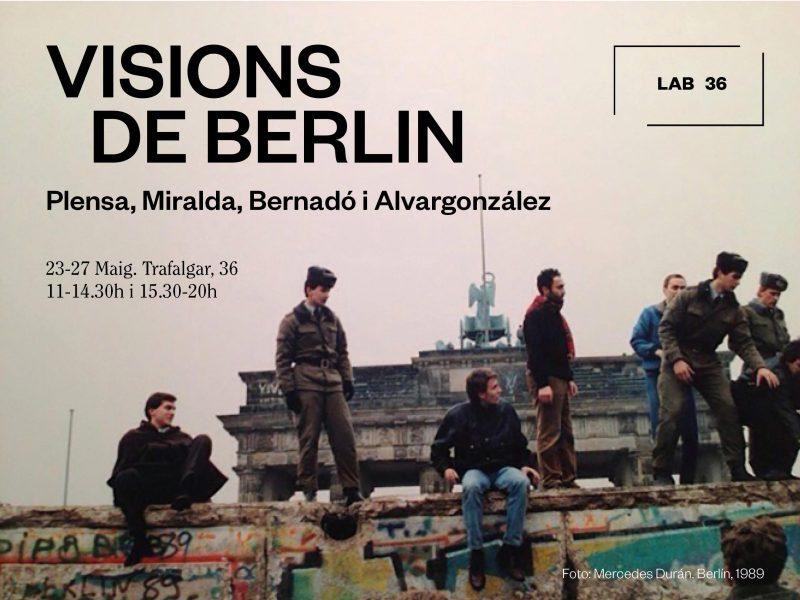 Invitation | Visions de Berlin: Plensa, Miralda, Bernardó i Alvargonzález