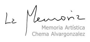 Memoria Artística Chema Alvargonzález